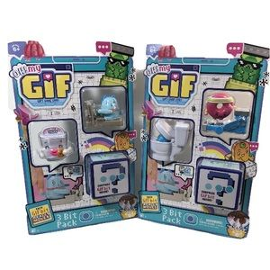 New Moose Toys Bundle 2 Oh! My Gif 3 bit pack